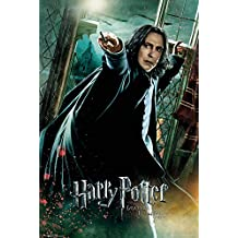 """Harry Potter And The Deathly Hallows - Movie Poster / Print (Professor Severus Snape / Alan Rickman - Wand) (Size: 24"""" x 36"""")"""