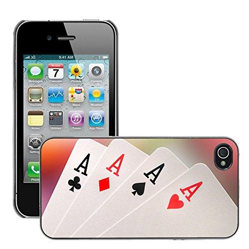 Hülle Case Schutzhülle Cover Premium Case // V00002550 Asse // Apple iPhone 4 4S 4G