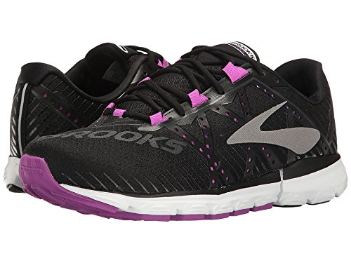 Brooks Women's Neuro 2 Black/Purple Cactus Flower/White 8 B US