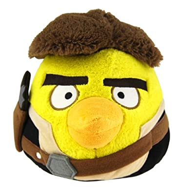 Angry Birds Star Wars 5 Plush - Han Solo by Angry Birds Star Wars
