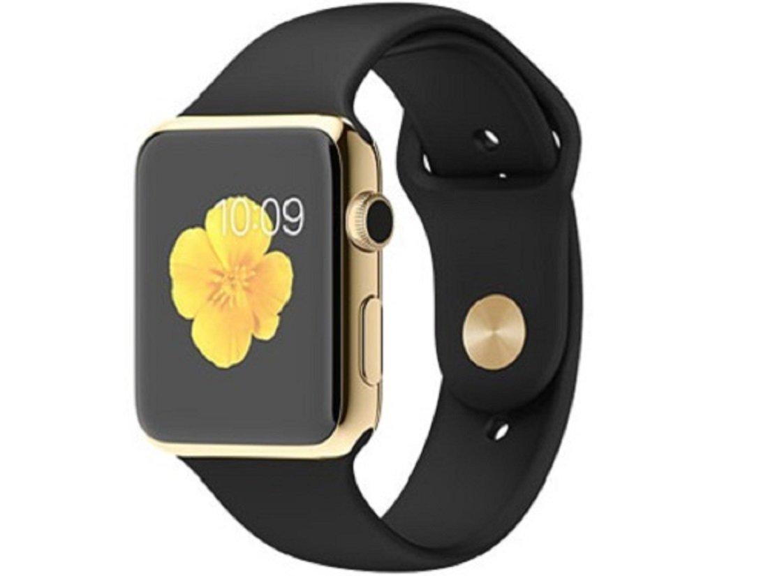 Apple Watch Edition 42mm MJ8Q2J/A [18Kイエローゴールドケース/ブラックスポーツバンド]の商品画像