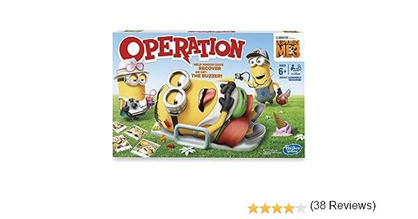Hasbro Gaming Despicable Me 3 Edition Juego de operación: Amazon.es: Juguetes y juegos