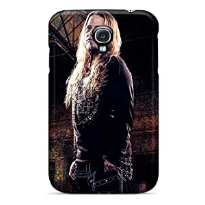 Shock Absorbent Cell-phone Hard Covers For Samsung Galaxy S4 (LVw2854issV) Customized Stylish Charon Band Series