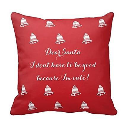 Amazon.com  Red Christmas Throw Pillows Cover 18 x 18
