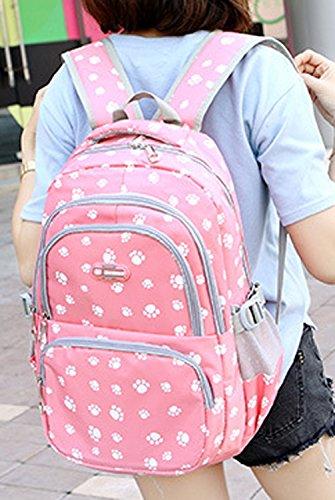 dos multi à Keshi style scolaire Nouveau Voyages fonction Sac loisirs Nylon Violet YIwqXwZ