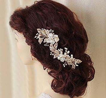 Amazon Com Wedding Hair Accessories Bridal Hair Piece Bridal Hair