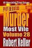 Murder Most Vile Volume 28: 18 Shocking True Crime Murder Cases