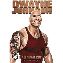 Dwayne Johnson Calendar - Calendar 2018 - 2019 Calendars - Sexy Men Calendar - Movie Wall Calendar - 12 Month Calendar by Dream