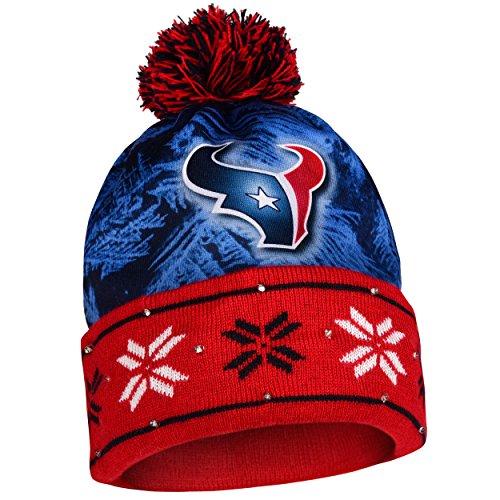 NFL Houston Texans Light Up Knit Hat