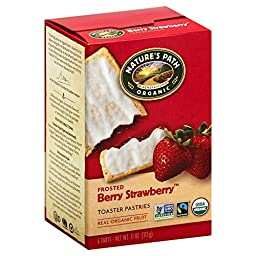 Nature\'s Path Frosted Toaster Pastry - Strawberry - 11 oz - 6 ct - 2 pk
