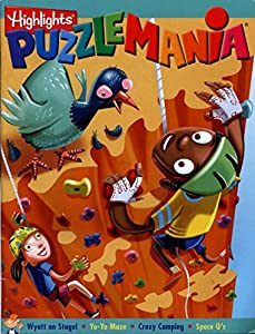 Paperback Highlight's Puzzlemania Book