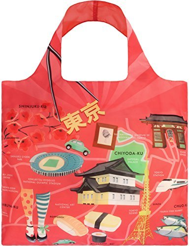 LOQI ( low-key ) Eco- bag 'URBAN' Tokyo (UR.TO.n) by LOQI