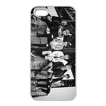 7ee7142cebf Funda con tapa para phone BTS KPOP iPhone 5S Jimin Jin V J-Hope clariden  KOOK Suga Rap drastra Phone Case: Amazon.es: Electrónica