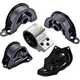 Engine Motor and Trans Mount Set of 5 for 1994-2001 Acura Integra 1.8L Compatible with Manual Transmission