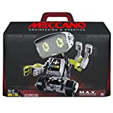advanced robot kit - Meccano-Erector M.A.X Robotic Interactive Toy with Artificial Intelligence
