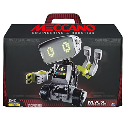 Meccano Erector M A X Robotic Interactive Toy With Artificial Intelligence