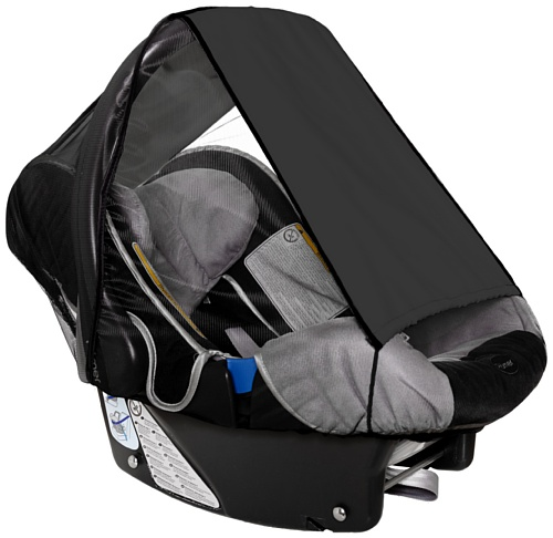 Sunnybaby 11286?SunscreenInsect Net for Baby Car Seat???Black