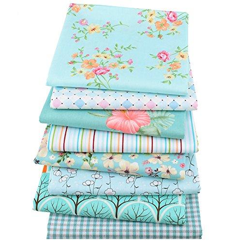 OPEN BUY 8 ideales telas tonos azules de 40 X 50 cm para ...