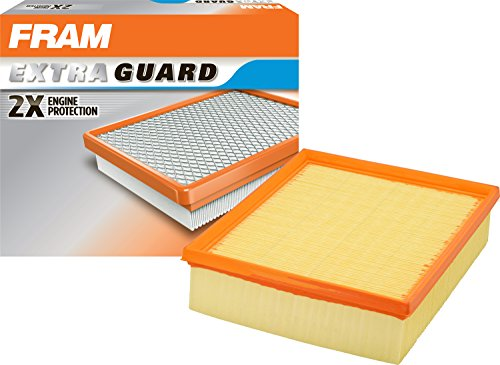 FRAM CA8295 Extra Guard Flexible Rectangular Panel Air Filter (Best Car Air Filter Review)