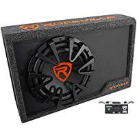 Rockville RWS12CA Slim 1200 Watt 12 Amplified Powered Car Subwoofer Enclosure