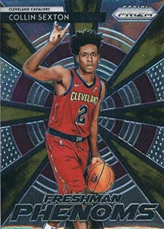 550862020922 2018-19 Panini Prizm Freshman Phenoms  18 Collin Sexton Cleveland Cavaliers  Basketball Card