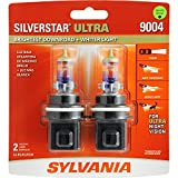 SYLVANIA 9004 SilverStar Ultra High Performance Halogen Headlight Bulb, (Contains 1 Bulb)