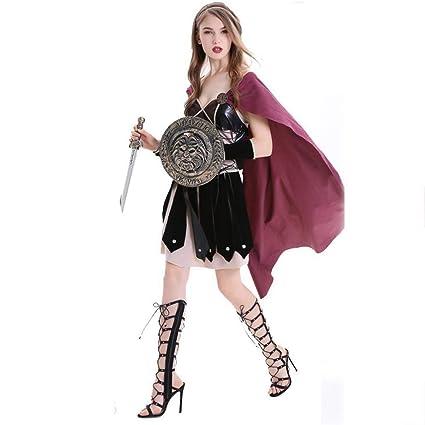 Fashion-Cos1 Girls Knight Cavalier Ropa para Mujeres Adultas ...