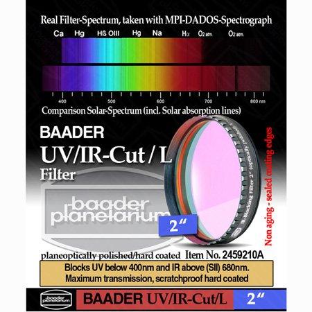 Baader Planetarium UV IR-Cut Telescope Filter 2'' FUVIR-2 by Baader Planetarium
