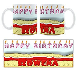 Happy Birthday Rowena Cake
