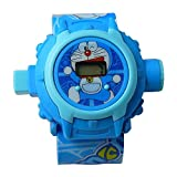 Doraemon Cartoon images Projector Watch Kids Digital Wrist Watch cartoon character watch
