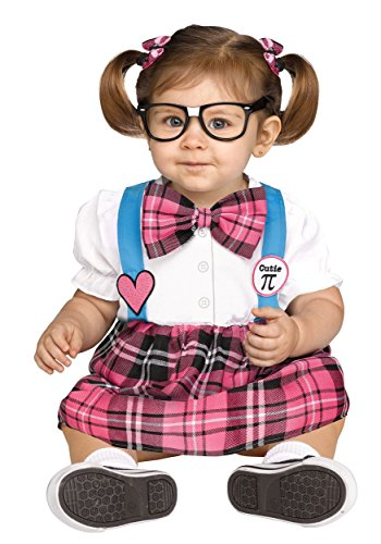 Cutie PI School Nerd Toddler Costume (Toddler Nerd Costumes)