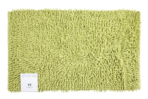 Creative Bath Products All That Jazz Bath Rug, Lime