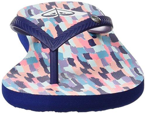 Femme 5 36 Bermuda White Bleu EU White Roxy Print Black Tongs Navy H4SqE