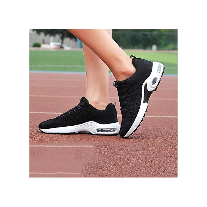 Oudan Scarpe Da Corsa Donna Camminata Leggere Con Piattaforma Leggera Sneakers Fitness Traspiranti Sportive Stringate colore B Misura 40 colore D Dimensione 36