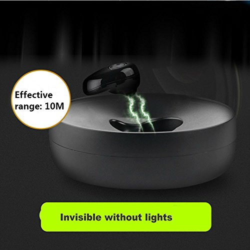 Hangang Mini Wireless Bluetooth earbud Hidden Headset With Large Battery Charging Box Earphones For apple iPhone 8 iPhone X,Samsung,iPad,Android phone (Single) by Hangang (Image #7)