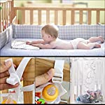 Crib-Storage-BagBaby-Organizer-for-Crib-Bed-Hanging-Storage-Bag-for-Baby-Essentials-Suitable-for-Baby-Car-Wall-Table-Toy-Diaper-Pocket-Crib-Bedding-Set2-Pack
