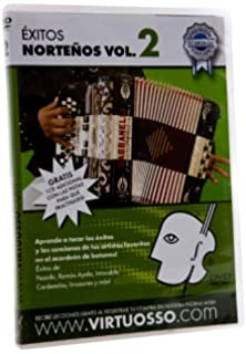 Virtuosso EAB2 Exitos Nortenos en el Accordion de Botones DVD and CD Vol.2