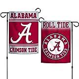 """Elite Fan Shop NCAA 2 Sided Garden Flags 12.5"""" x"""