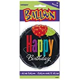 "18"" Foil Birthday Cheer Happy Birthday Balloon"