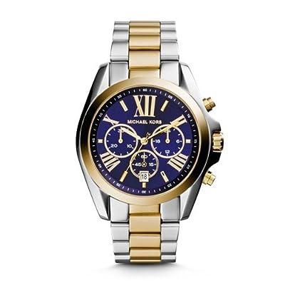 Michael Kors Men's Bradshaw Two-Tone Watch MK5976
