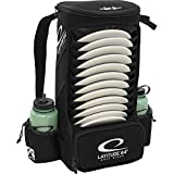 Latitude 64 Easy-Go Backpack Disc Golf Bag (Black)