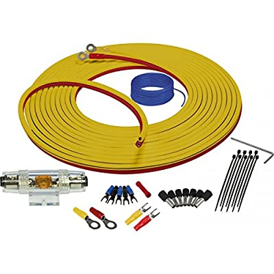 Stinger SEA4283 Marine Complete Amplifier Installation Kit 3-Meters of 8 Gauge Power + Ground