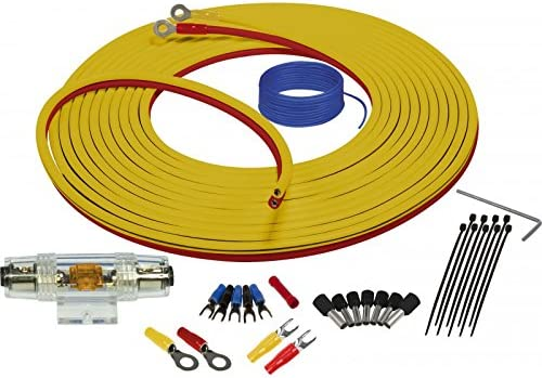 Stinger SEA4283 Marine Complete Amplifier Installation Kit 3-Meters of 8 Gauge Power Ground