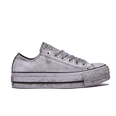 cfcf2778e3768 Converse Chaussures Femme Baskets All Star Platform Blanc Smoke in  Automne-Hiver 2019