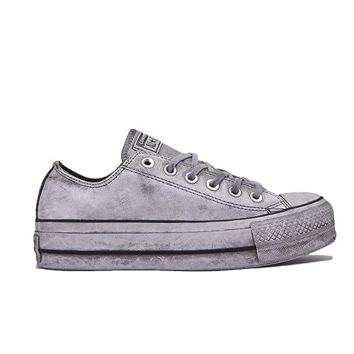 a017ce69d86ee Zapatos de Mujer Zapatillas Converse All Star Platform Blanca Smoke In  Otoño Invierno 2019  Amazon.es  Zapatos y complementos