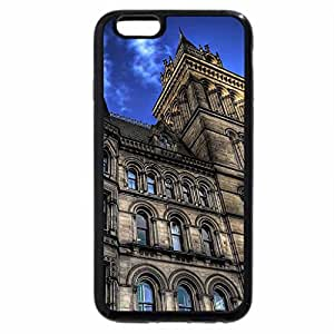 iPhone 6S / iPhone 6 Case (Black) manchester city hall hdr