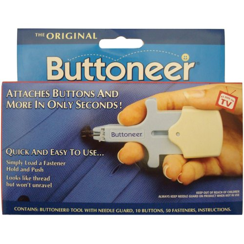 Avery Dennison 96001 The Original Buttoneer Fastening System (Button Replacement Kit)