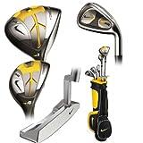 Nike Golf Junior SQ Sasquatch Machspeed Box Set, Right Hand, Graphite, Uniflex, 2