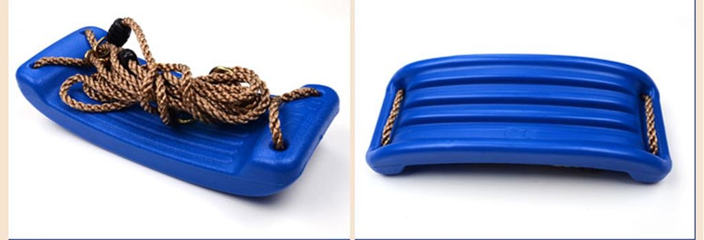 Color : Blue Childrens Indoor Outdoor Plastic Adjustable Garden Swing Seat Toy,Age For 2-5 Years Old Ailin home