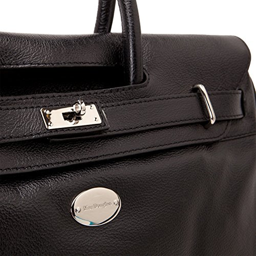 Nickel Douglas à Buffle Pyla Sac main Noir Mac XS wxgFSwPq6